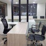 Trabajos de mobiliario de oficina en Jac Motors