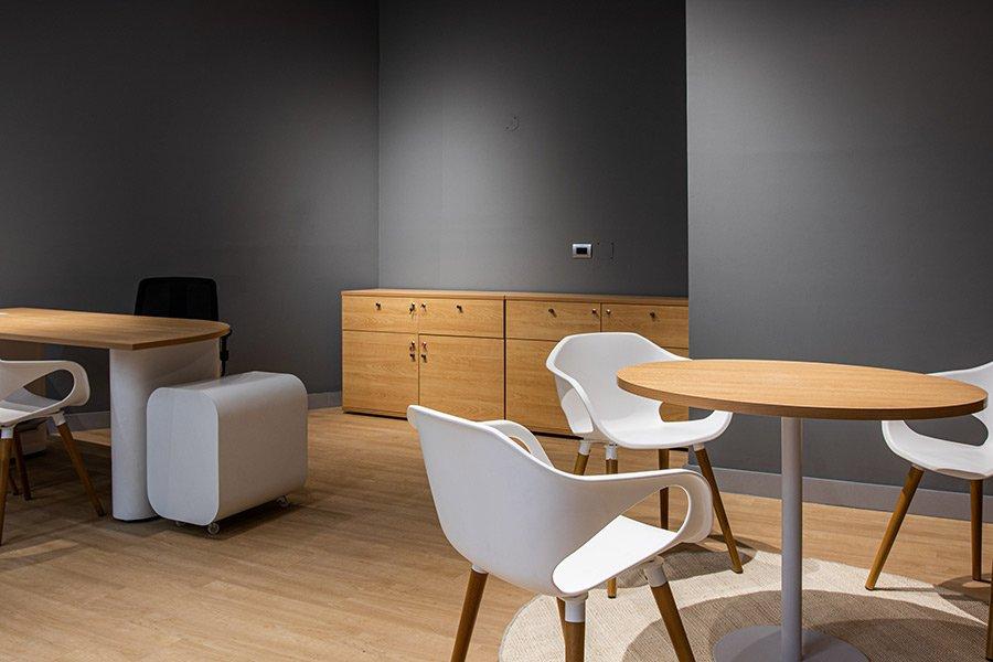 Muebles para área de atención al público